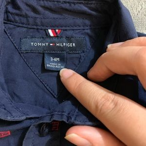 Tommy Hilfiger Shirts & Tops - 3-6M Tommy Hilfiger Button Down